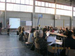 """Ппедставяне на Проект """"Учители и родители единни в грижата за децата"""" - СУ Св. Климент Охридски - Камен"""