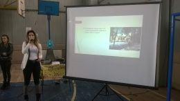 Презантация за историята на училището, представена от Снежанка Илиева-ученичка от 11 клас - СУ Св. Климент Охридски - Камен
